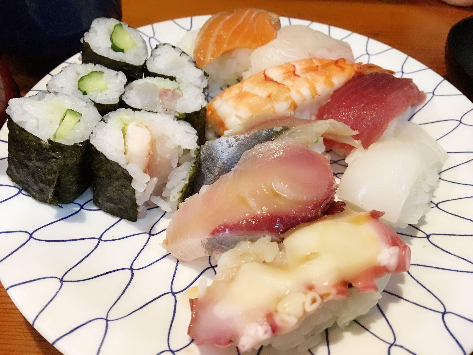 【大阪美食】天下茶屋站附近手握美味壽司店